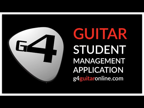 Guitar Teacher App. 1. Overview