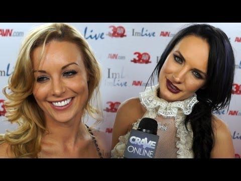 AVN Awards 2013 Porn Star Red Carpet Interviews NSFW