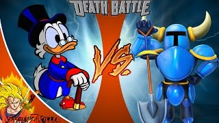 Scrooge McDuck vs Shovel Knight _ DEATH BATTLE! REACTION!!!
