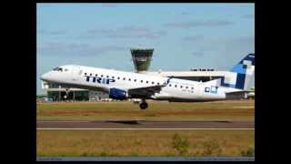 "Battle Of The Airways XXXV: TRIP Linhas Aéreas vs.Azul Brazilian Airlines ""Brazil's Best Regional"""