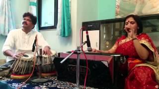 Vidushi Seema Shirodkar Raag Mishra Shivranjani - Bairan Ho Gayi Rain  (Thumri)