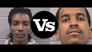 Lil Reese and Lil Mister Beefing on Instagram Live Clowning Each other Back and Forth