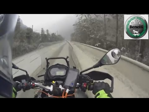Benelli TRK 502  Rough Road Ride Test in China