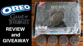 Game of Thrones OREO Review and Giveaway