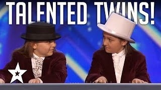 Talented Twins Nail Flight Of The BumbleBee On Keyboard! America