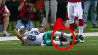 NFL Top 10 Catches Using the Legs