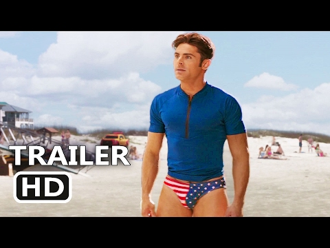 BAYWATCH Official Super Bowl Trailer 2017 Comedy Movie HD