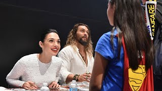 Gal Gadot Shares Sweet Moment with Teary-Eyed Little Girl Dressed as Wonder Woman