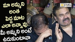 Naga Babu Emotional Words about his Mother Reaction on Sri Reddy Scolding her - Filmyfocus.com