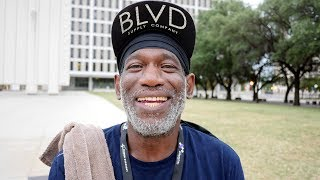 Richard is a homeless veteran. When I handed him new socks, I was not prepared for his reaction.