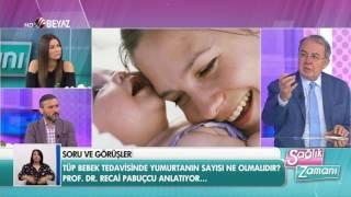 Prof. Dr. Recai Pabuçcu - Beyaz TV Sağlık Zamanı 18.06.2017