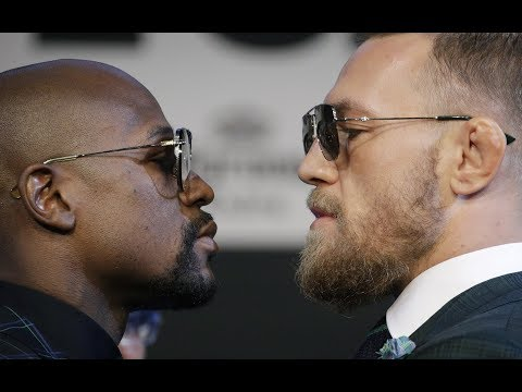 Xxx Mp4 Floyd Mayweather And Conor McGregor Weigh In Before Fight – Watch Live 3gp Sex