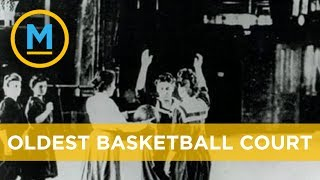 The fight to preserve the world's oldest basketball court | Your Morning