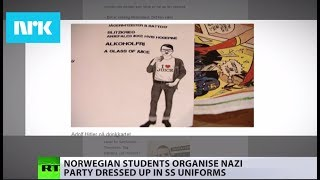 'Nazism no laughing matter': Students' 'Nazi party' sparks fury