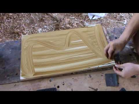 How to paint an imitation wood grain veined Types Luis Lovon