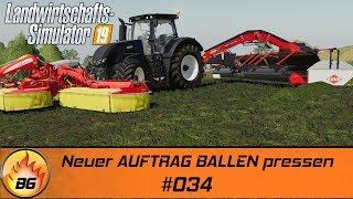 LS19 - Ravenport #034 | Neuer AUFTRAG BALLEN pressen | FS19 | Let's Play [HD]