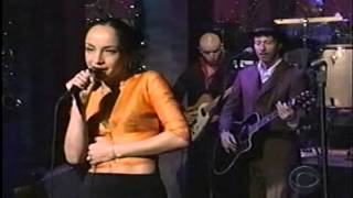 Sade - Performing By your Side ( Live on David Letterman Show)