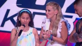 Ana K. cantó Contigo en la distancia de César Portillo - LVK Col - Audiciones a ciegas – Cap 1 – T2