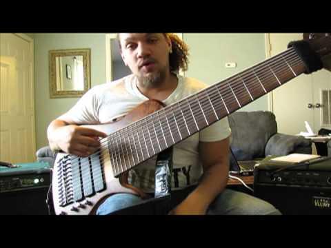 Scott Fernandez 12 String Bass Sophia WalkThrough and Demonstration
