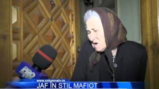 Jaf in stil mafiot - www.columnatv.ro