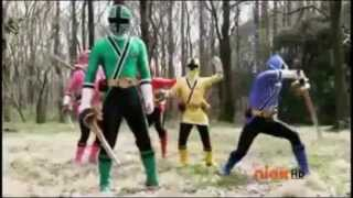 Hypnotized Blue Samurai Ranger
