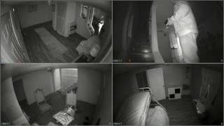 ZoZo Ouija Board Demon Haunted House Night One CCTV Cams