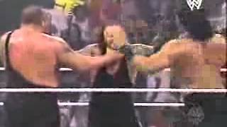 Double Chokeslam   Big Show  Great Khali vs  Undertaker
