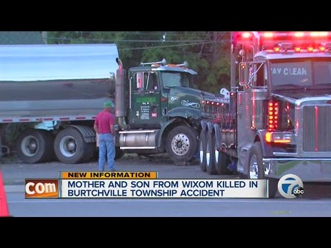 Mother and son from Wixom killed in Burtchville Township accident
