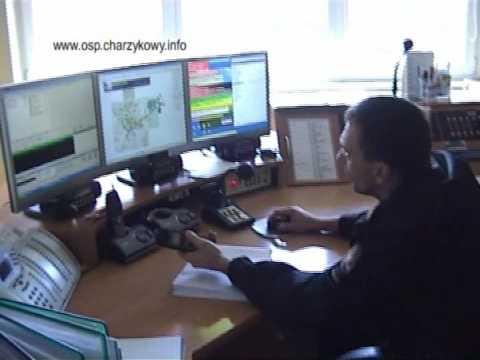 Straż Pożarna Charzykowy Alarmowanie Wyjazd Alarmowy OSP cz.1