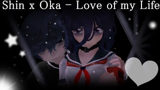 【MMDPV X Yandere Simulator 】Shin x Oka - Love of my Life