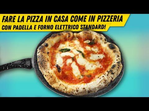 Come fare la pizza napoletana nel forno di casa come in pizzeria in 3 minuti
