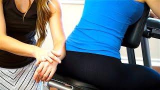Chair Massage Techniques for Low Back Pain Relief & Legs, San Antonio Chair Massage, ASMR