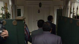 Saudi delegation arrives at the Consul