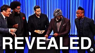 David Blaine: Jimmy Fallon 2016 Card Trick REVEALED
