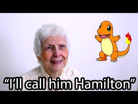 91 Year Old Grandma Guesses Pokemon Names