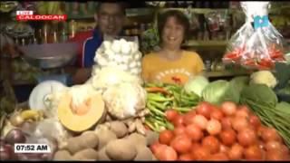 PRICE WATCH: Presyo ng mga gulay sa Sangandaan Market, Caloocan