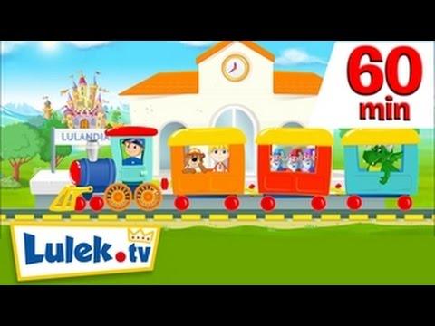 Jedzie pociąg NOWY TELEDYSK I więcej piosenek dla dzieci HD I 60 minut z Lulek.tv