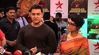 Aamir Khan at STAR Parivaar Awards 2014