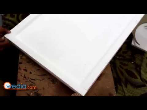 How to make base for project Thermocol Art