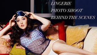 Lingerie Photo Shoot Behind the Scenes | Fashion Photographer Gia Goodrich