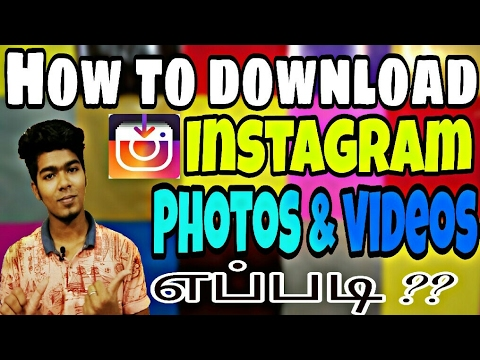 Xxx Mp4 How To Download Instagram Photos Videos எப்படி In Tamil 3gp Sex