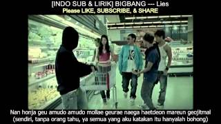 [INDOSUB & LIRIK] BIGBANG --- Lies (MV)