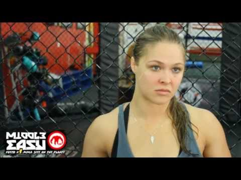 Ronda Rousey discusses the finer points of boobs and sports bras with us in this interview.