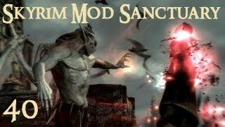 Skyrim Mod Sanctuary 40 : Better Vampires, Bat Travel Vampire Lord power and Predator Vision