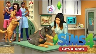 The Sims 4: Cats & Dogs Gameplay & Create A Pet  (Gamescom)