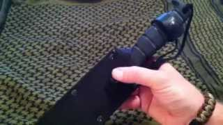 Ontario SP6 Fighting knife review