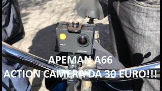 Apeman A66 ITA: La migliore Action Camera da 30 euro su Amazon Italia? Test Gopro, Drone, Acqua...