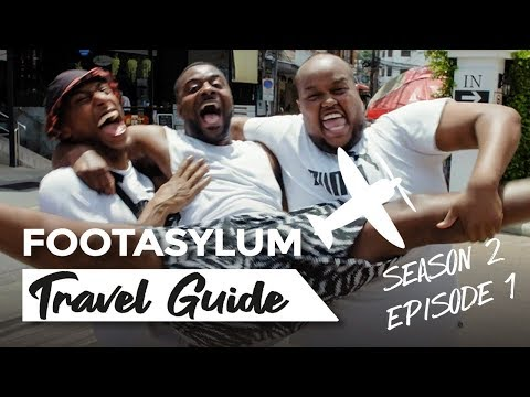 CHUNKZ FILLY AND LV GENERAL IN THAILAND FOOTASYLUM TRAVEL GUIDE SOUTHEAST ASIA EPISODE 1