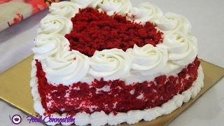 Eggless Red Velvet Cake | Cake for Beginners | Start To Finish - By Food Connection
