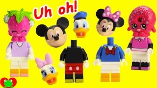Mickey Mouse Club House Friends Wrong Heads Disney Lego and Minnie Magical Microwave